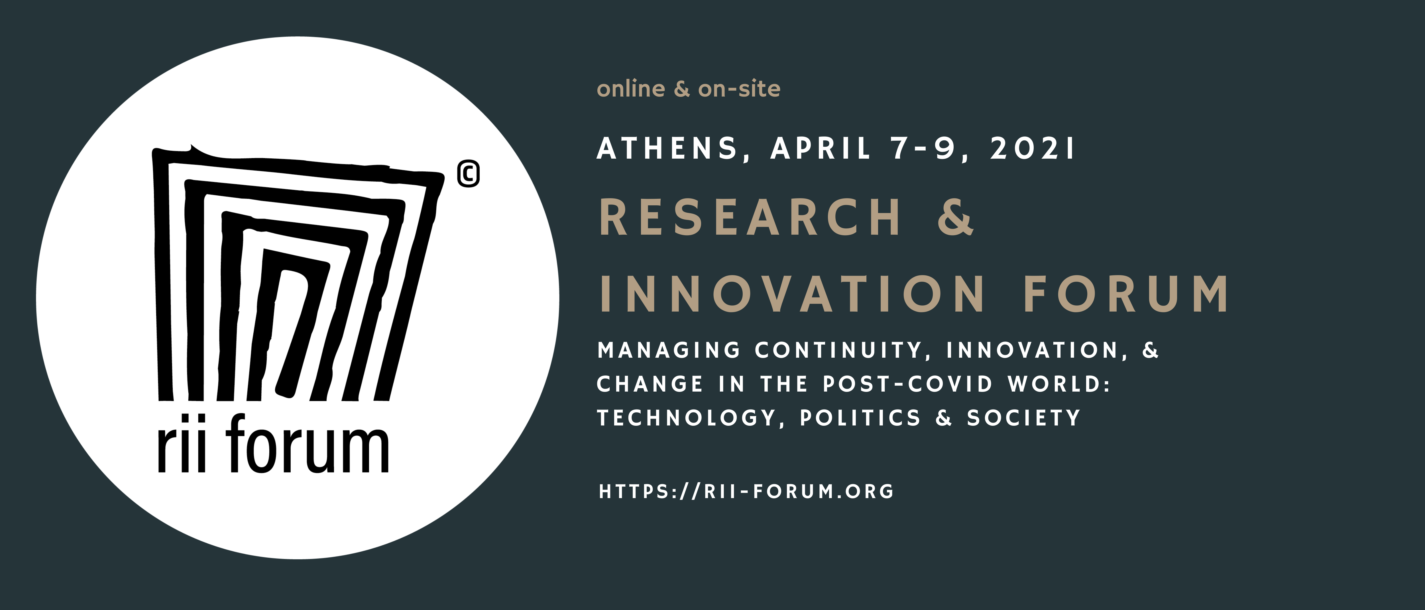 Research & Innovation Forum 2021